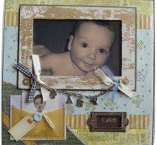 Personalised-Baby-boy-photo-frame
