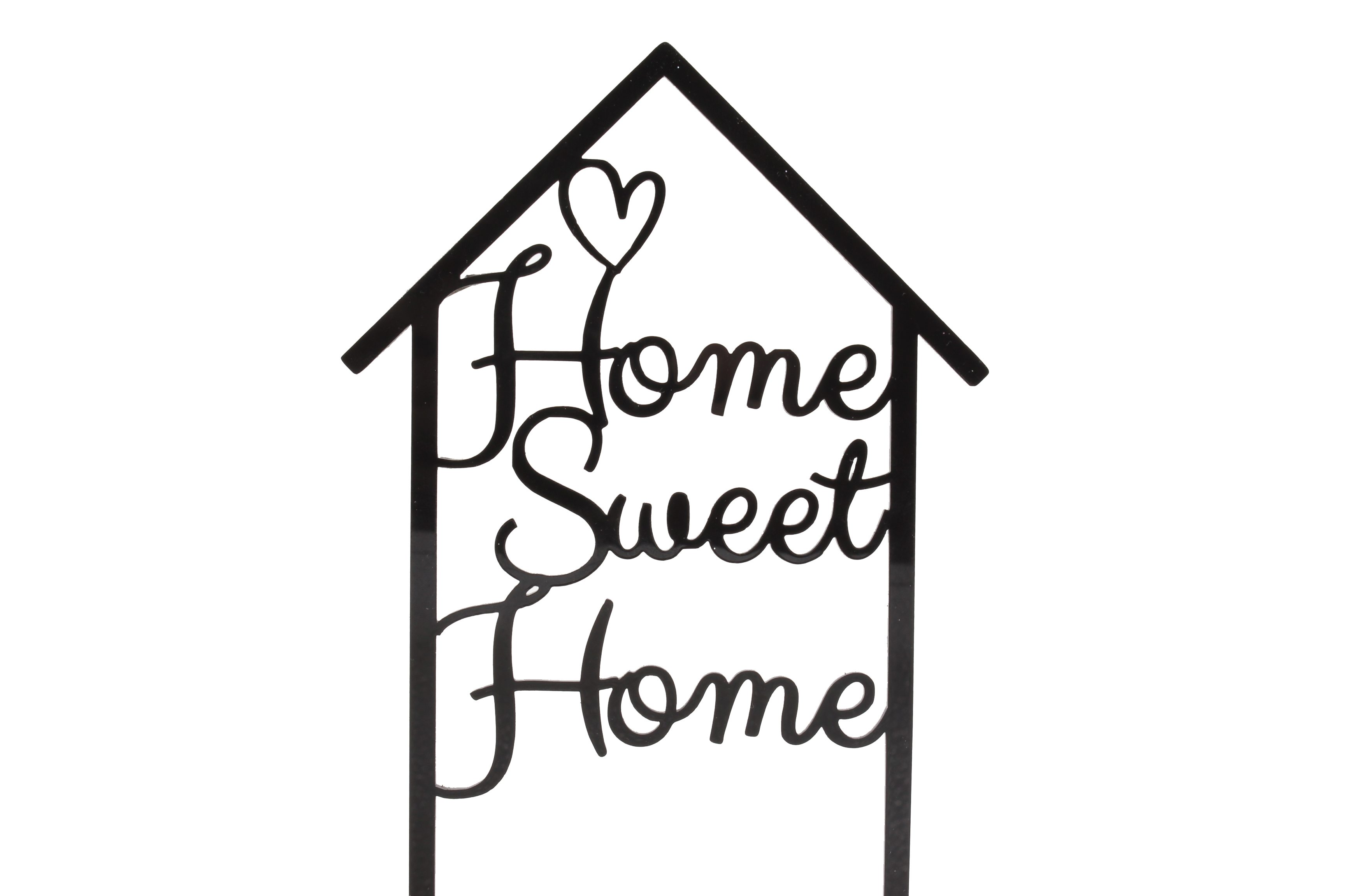 Home Sweet Home Round 3D Farmhouse Sign   Laser Cut Wood