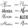 Night Light Fonts
