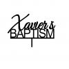 Xavier's Baptism